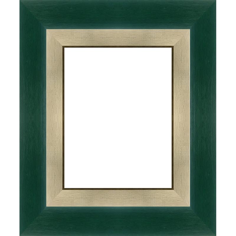 encadrement vert fonc sur mesure avec marie louise cadre toile. Black Bedroom Furniture Sets. Home Design Ideas