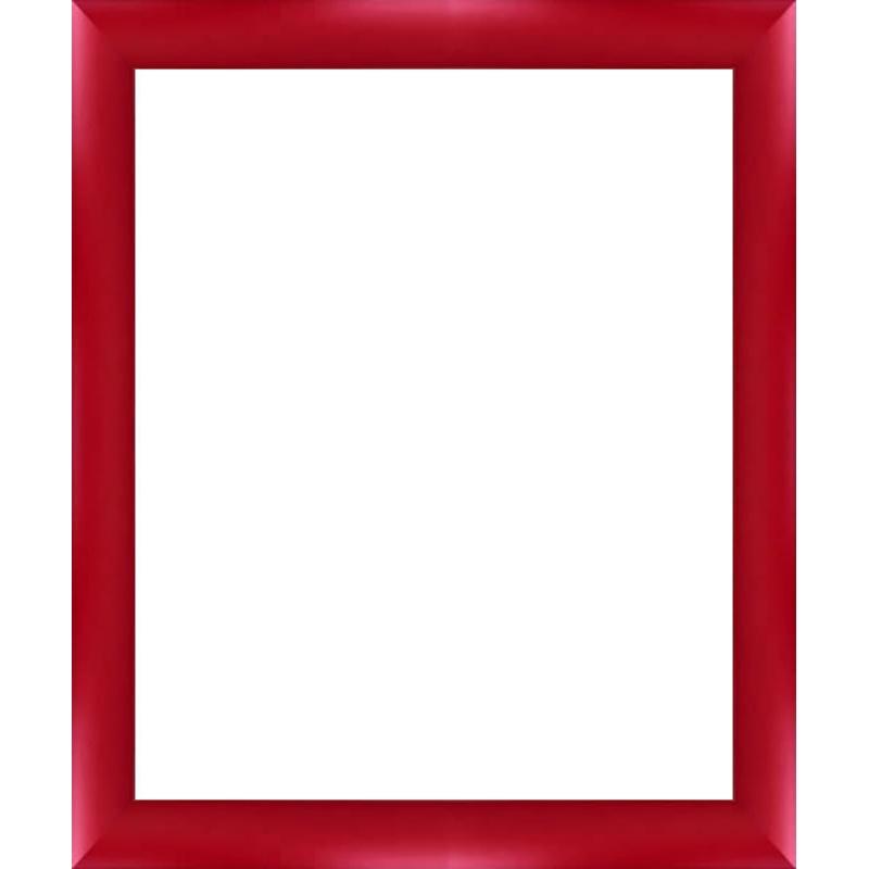 cadres arrondis rouges sur mesure pour peinture sur toile encadrement bois tout format sur. Black Bedroom Furniture Sets. Home Design Ideas