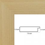 Hauteur: 116 Largeur: 73 Ajoutez une Marie Louise: Non Ajoutez un plexiglas et un dos médium: Non Sens d\\\'accroche du cadre: