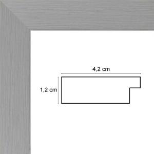 cadre d 39 art plat gris sur mesure sur cadre toile hauteur 40 largeur 40 ajoutez une. Black Bedroom Furniture Sets. Home Design Ideas