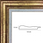 Hauteur: 24 Largeur: 19 Ajoutez un plexiglas et un dos médium: Non Sens d\\\'accroche du cadre: Vertical