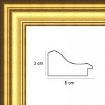 Hauteur: 0.46 Largeur: 0.61 Ajoutez une Marie Louise: Non Ajoutez un plexiglas et un dos médium: Non Sens d\\\'accroche du cad