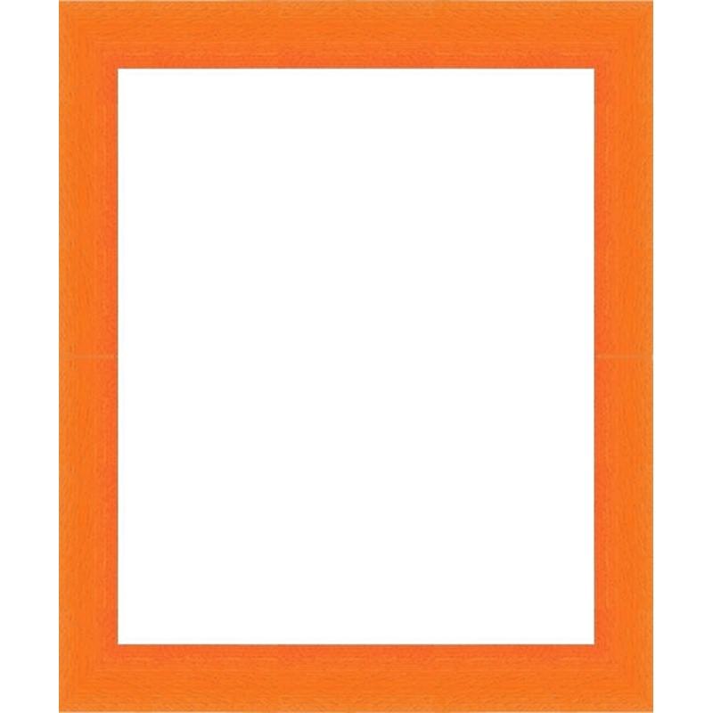 cadres arrondi orange encadrement orange sur mesure en vente sur cadre toile. Black Bedroom Furniture Sets. Home Design Ideas