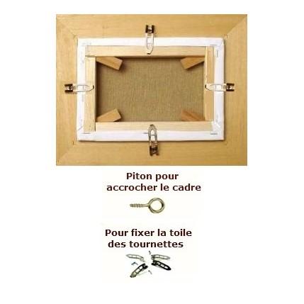 accrocher un cadre great attractive accrocher cadre sans. Black Bedroom Furniture Sets. Home Design Ideas