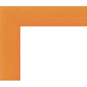 Encadrement Arrondi Orange