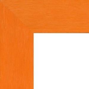 Encadrement Plat Orange