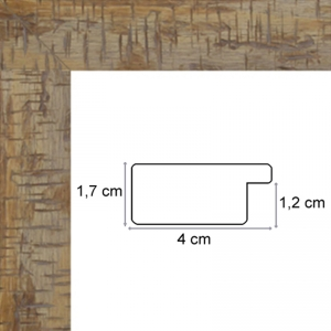 cadre marron clair pour toile sur mesure cadre toile. Black Bedroom Furniture Sets. Home Design Ideas