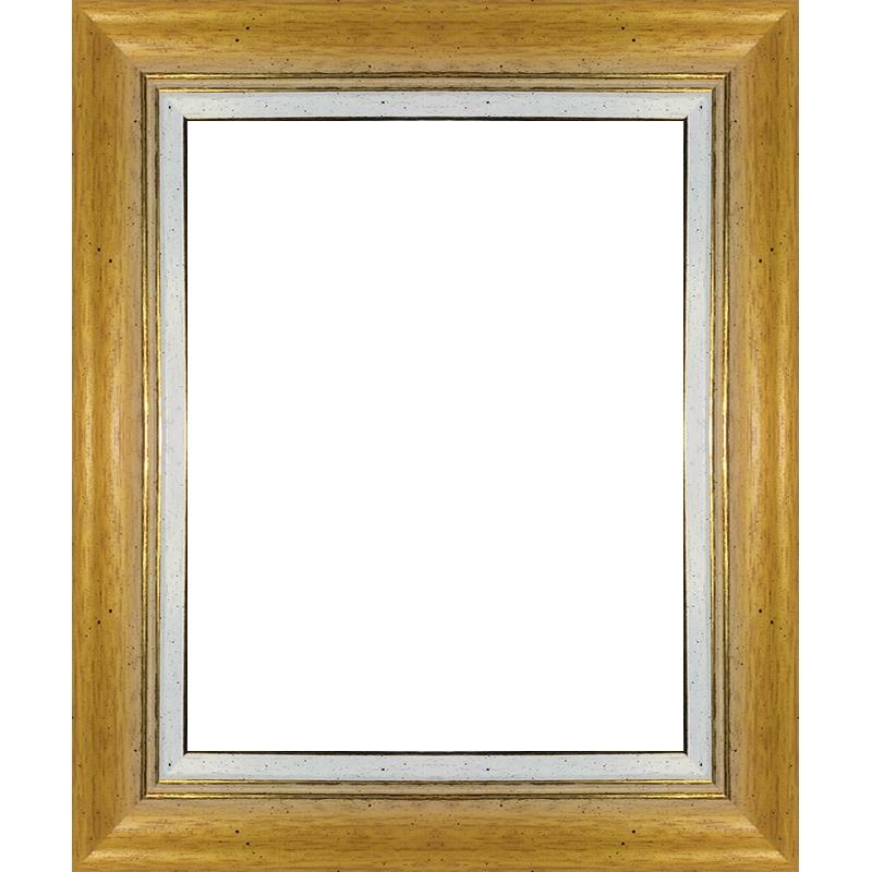 cadre jaune avec marie louise pour tableau encadrement bois sur mesure pour toile. Black Bedroom Furniture Sets. Home Design Ideas