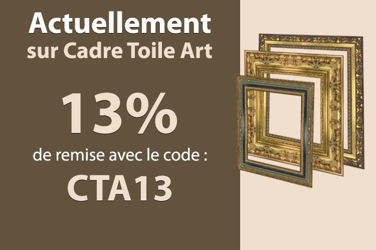 13% de remise avec le code CTA13