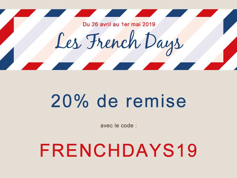 20% de remise pour les FrenchDays